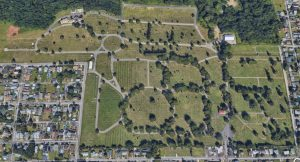 Cathedral Cemetery Aerial image